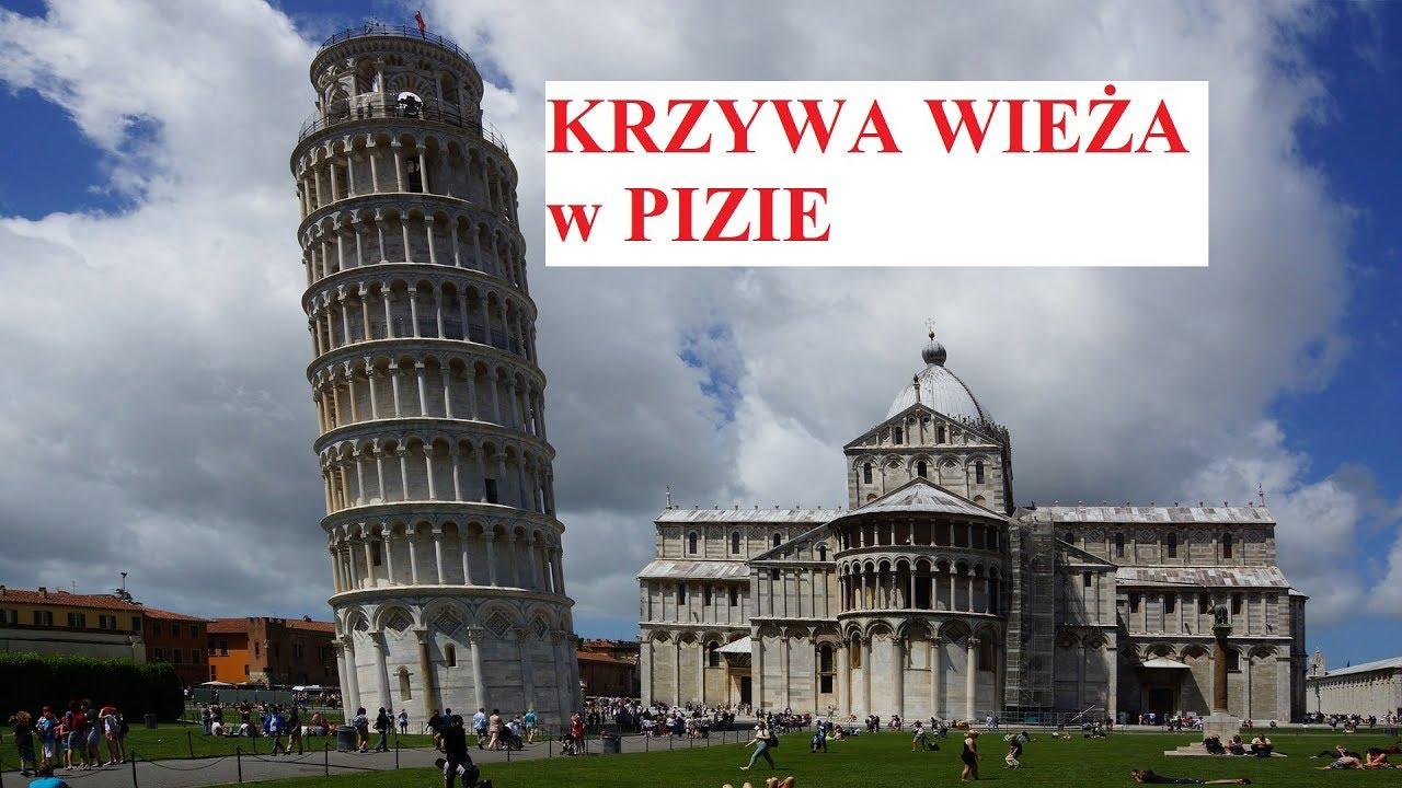 Krzywa wieża w Pizie - wow, fakty, ciekawostki