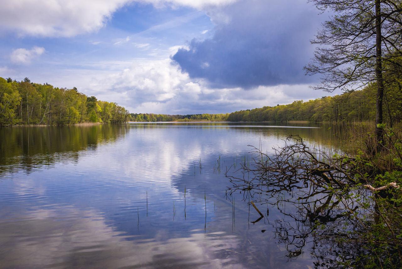 Noclegi Dziwnów – widok na pobliskie jezioro